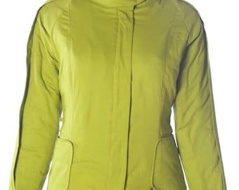 Green fleece lined jacket - Tocata Jacket Betty