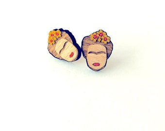 Frida Bamboo Earrings