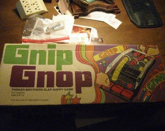 1971 Parker Bros Gnip Gnop Game in Box
