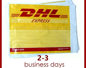 DHL: Express shipping takes 2-3 business days