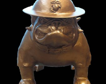 Sargeant Dawg ... USMC Military Style English Bulldog Mascot