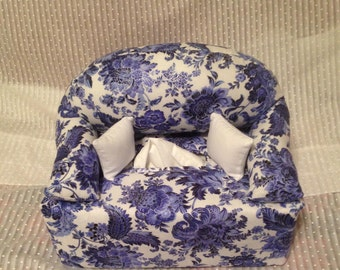 Tissue Box Couch Cover Floral
