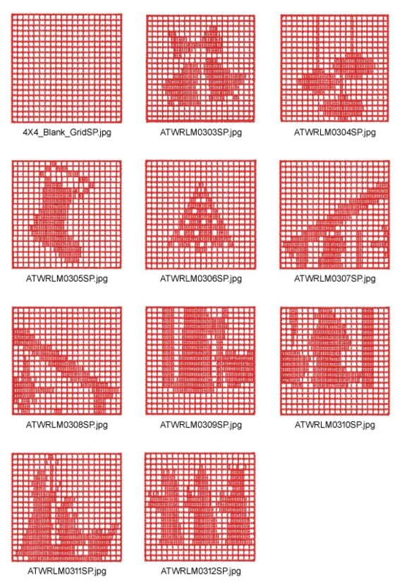 Filet uncinetto natale 10 disegni del ricamo di macchina for Uncinetto digitale