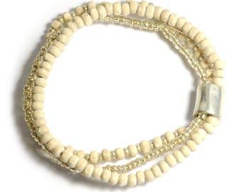 Handmade Strach 3-set Bracelet