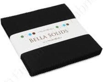 Bella Black Charm Pack- Moda