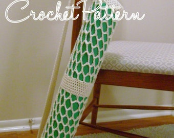 Yoga Mat Bag pattern - crochet - PATTERN ONLY