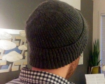 Knitted Hat - WWII American Red Cross Navy Watch Cap Style