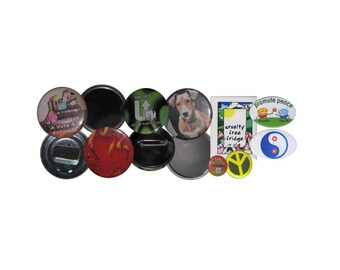 """Custom Buttons-1.25"""" Round Buttons"""
