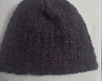 half price stocking hat in shades of purple