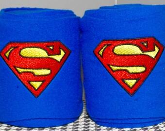 Superman Embroidered Polo Wraps