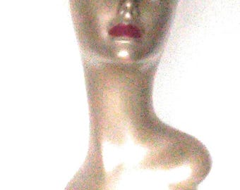 Champagne Female Mannequin Head