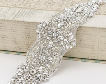 Bridal Belt, Wedding Belt, Sash Belt, Crystal Belt, Rhinestone Belt, Bridal Gown Belt, Wedding Sash Belt,  Wedding Dress Belt B185.4