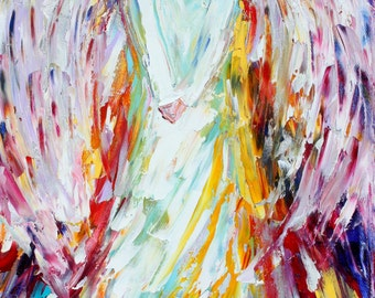 Angel of Joy Fine Art Print made from image of past oil painting by Karen Tarlton