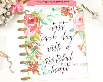 Instant Download, For Use With The Happy Planner® Mambi Planner®, Planner Cover Set, IHP27
