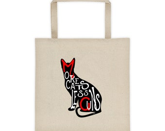 More Cats Less Guns™ Tote bag