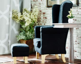1/3 Scale Wing Back Armchair for SD BJD