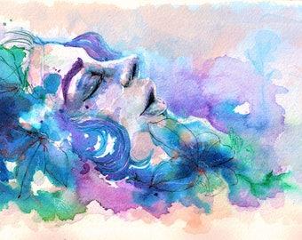"""Print of """"Brilla Sobre la Flor"""" 8x10"""