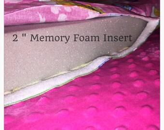 "1"" Memory Foam insert replacement"