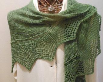PDF - LITTLE WING - A Versatile Knitted Wrap