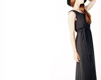 MAXI DRESS women's dress, sleeveless dress, summer dress, long dress, full length dress, hand made dress, custom clothing, treehouse28, new