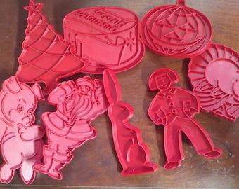 Vintage Tupperware Cookie Cutters