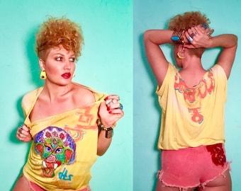 "Bahut Streetwear ""Kat Mandoo"" Slouchy Tee"