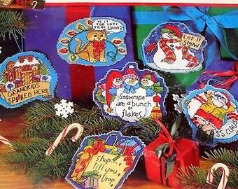 Holiday Fun Ornament - Three Snowman