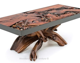 River Runs Through It Unique Coffee Table