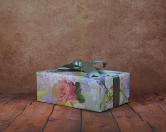 Luxury Collect Gift Wrap Kit - Floral