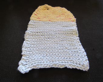 Handmade Dishcloth - Lt. Blue/Potpourrie