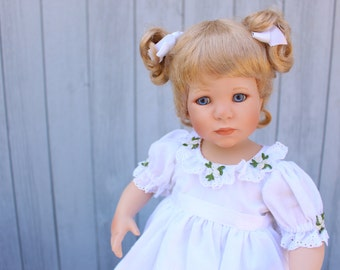 Patience by Jeanne Singer, Children of Virtue Collection - The Danbury Mint Doll