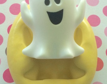 CUTE Ghost Silicone MOLD - Halloween Silicone Mold, Cake Supply, Molds, Clay Mold, Craft Supply, Mold, Chocolate Mold, Candy Mold, Cupcake