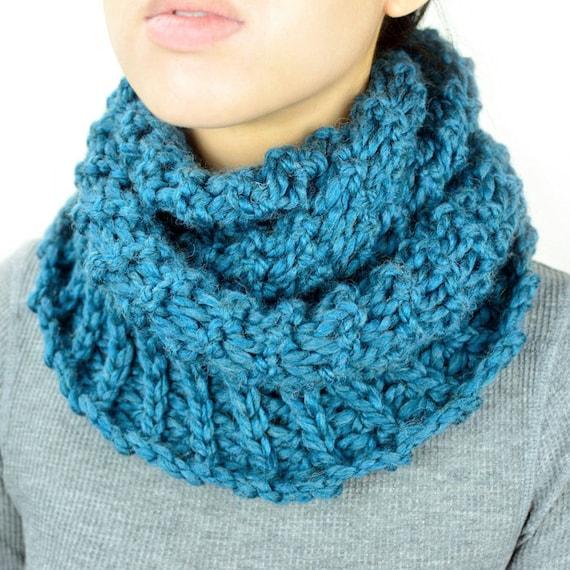 Broomstick Winter Infinity Scarf Pdf Crochet Pattern