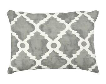 Lumbars, Grey Pillows, Trellis Pillows, 11x16 inch pillow cover, Chair Pillows, Decorative pillows,Throw Pillows, Pillows for Couch