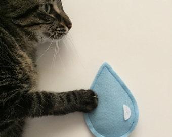 Organic Catnip Raindrop Cat Toy