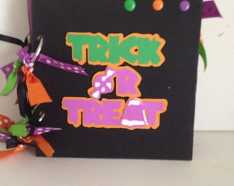 Halloween 6 x 6 Chipboard Album