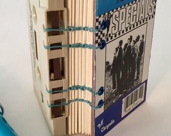 The Specials Cassette Hand-Bound Blank Book ~ Journal.