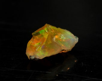 Natural Huge Ethiopian Opal Rough Gemstone 14x6x8 mm Fire Opal Raw For Jewelry Making Rough #RR69