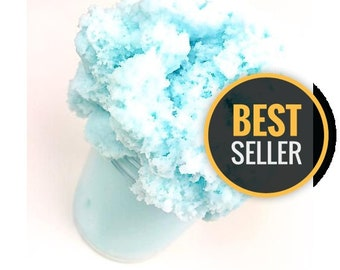 Blue Cotton Candy Cloud Slime (Scented) :)