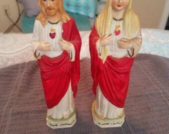 Religious Statues  set of 2