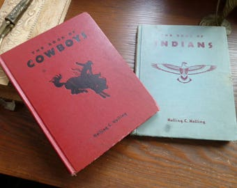 Cowboys and Indians books 1930s