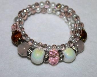 Memory Wire Valentine's Bracelet