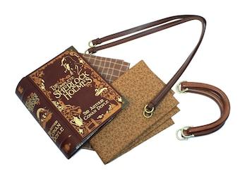 Sherlock Holmes Book Purse - Made to order - Decadence Altered Book Bookpurse Handbag