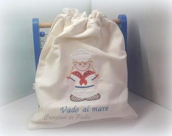 Children's bag for the sea