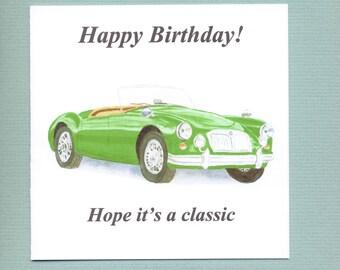 Classic car Etsy