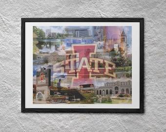 Cy's Nest 22 x 28 Poster - Iowa State University, Ames IA