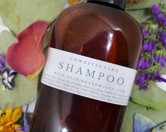 Conditionnement de shampooing - Choisissez votre parfum - shampooing à l'huile de noix de coco