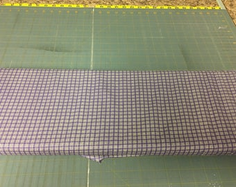no. 1023 Purple mini plaids Fabric by the yard