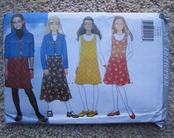 UNCUT Girls Jacket and Jumper - Butterick Sewing Pattern 4651