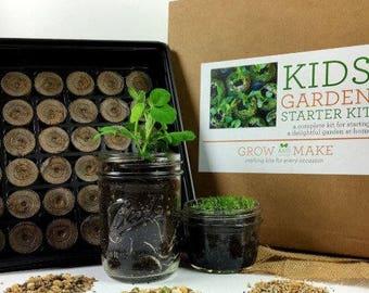 DIY Kid's Garden Kit